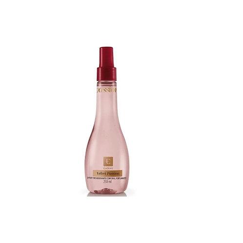 Eudora Velvet Passion Spray Desodorante Corporal Perfumado 250ml