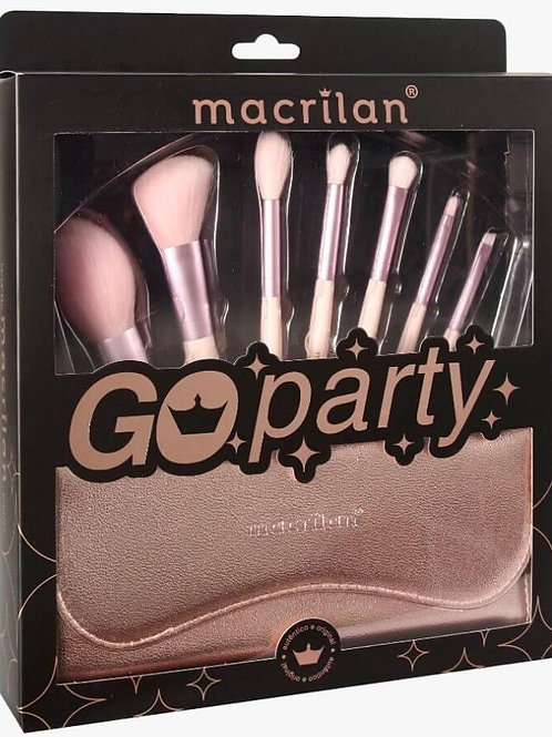 MACRILAN™ Go*Party 7 Pincéis profissionais