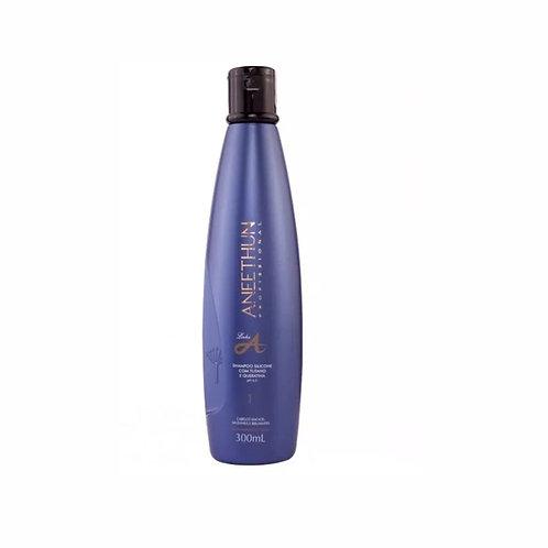 Shampoo Silicone com Tutano e Queratina 300ml Linha A Aneethun