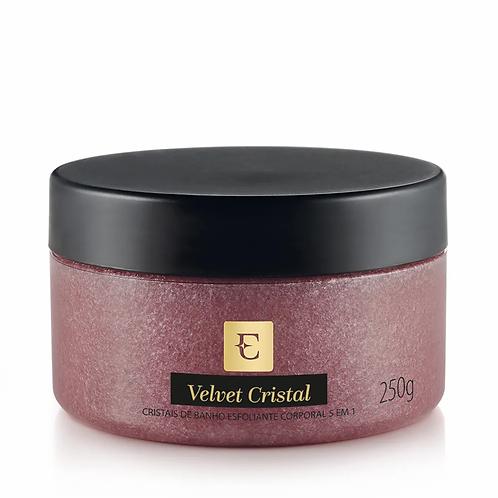EUDORA - Velvet Cristal Cristais de banho esfoliante corporal 5 em1   250g