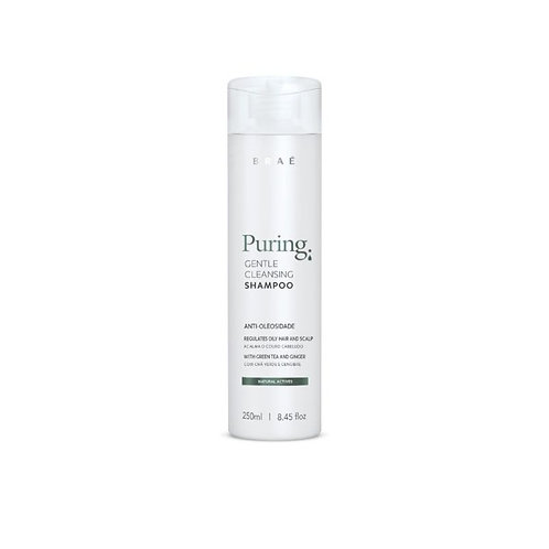 Shampoo Antioliosidade Puring Natural Actives Braé 250ml