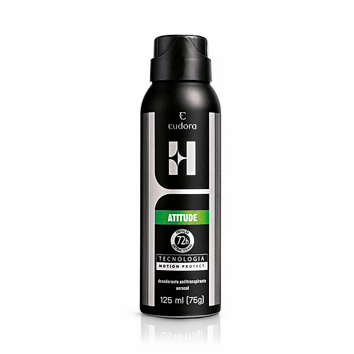 EUDORA - ATITUDE Desodorante antitranspirante aerosol 125ml