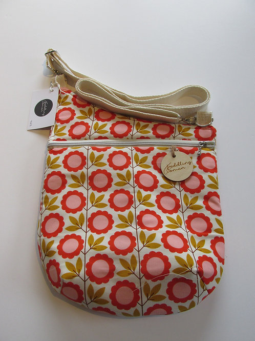 Cross body bag in Floral daisy