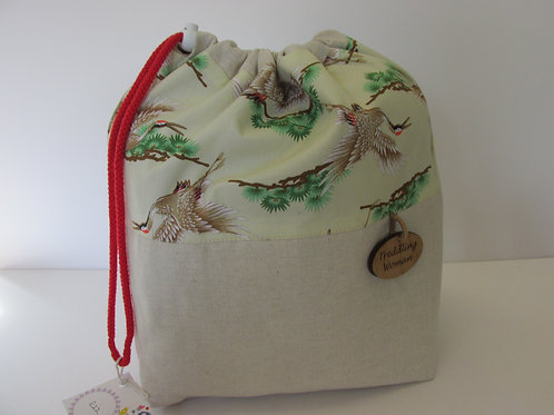 Large Drawstring Project Bag