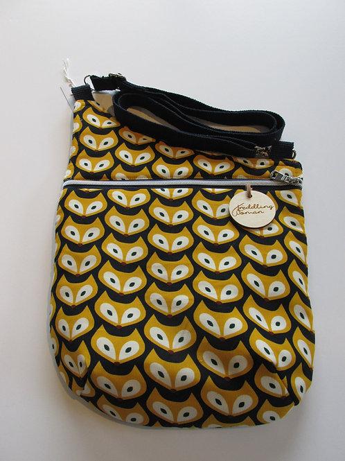 Crossbody bag Fox print