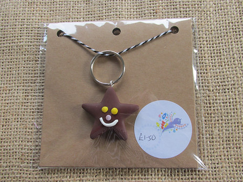 Star place keeper/keyring