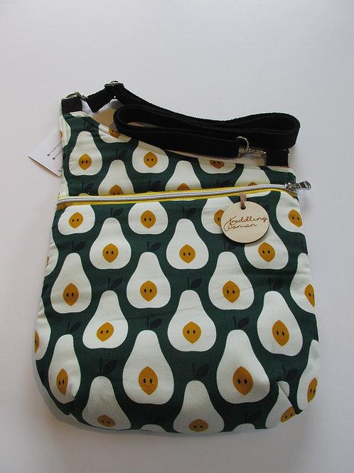 Cross body bag in Pear print