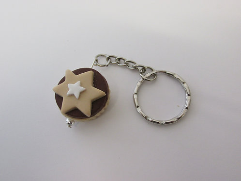 Minced pie keyring