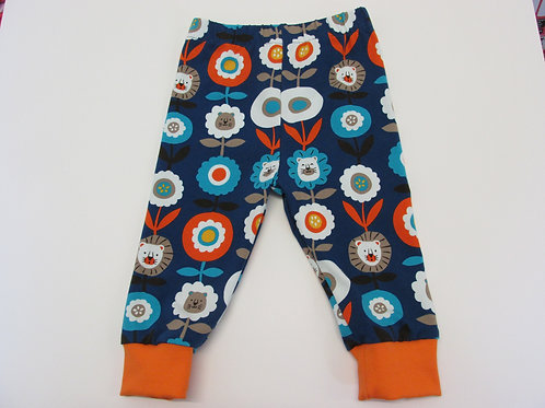 Lion flower Leggings 0-3 Months to 5 Years