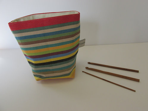 Reversible soft storage pot
