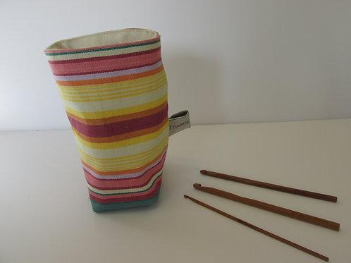 Reversible soft storage pot