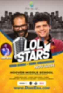 dime - lol stars comedy show eflyer hq_s