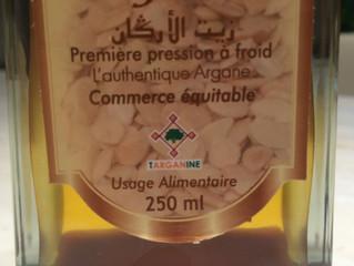 当店のアルガンオイルはタルガニン生産協同組合のオイルです。