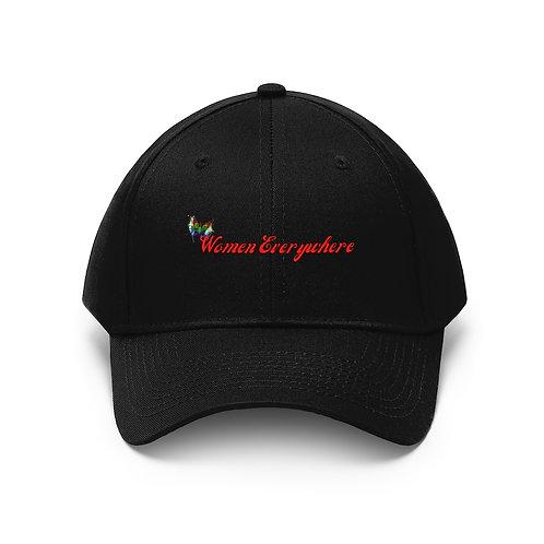 """WE"" Unisex Twill Hat"