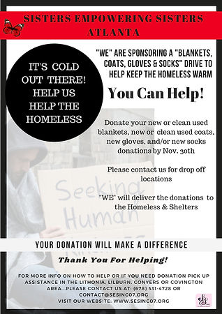 SES ATL Homeless Drive Flyer2018_revised