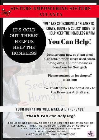 SES ATL Homeless Drive Flyer2018_revised