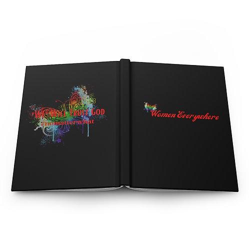 """WE"" Hardcover Journal Matte"