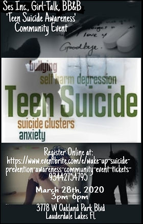 SES GT Teen Suicide Prevention Flyer2020
