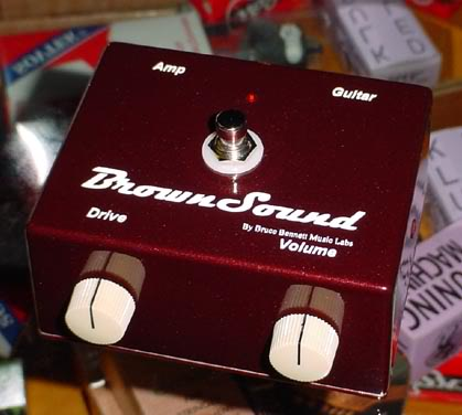 The Brown Sound dist/overd Pedal