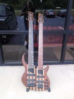 Custom Built Double neck bass