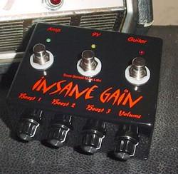 Insane Gain pedal
