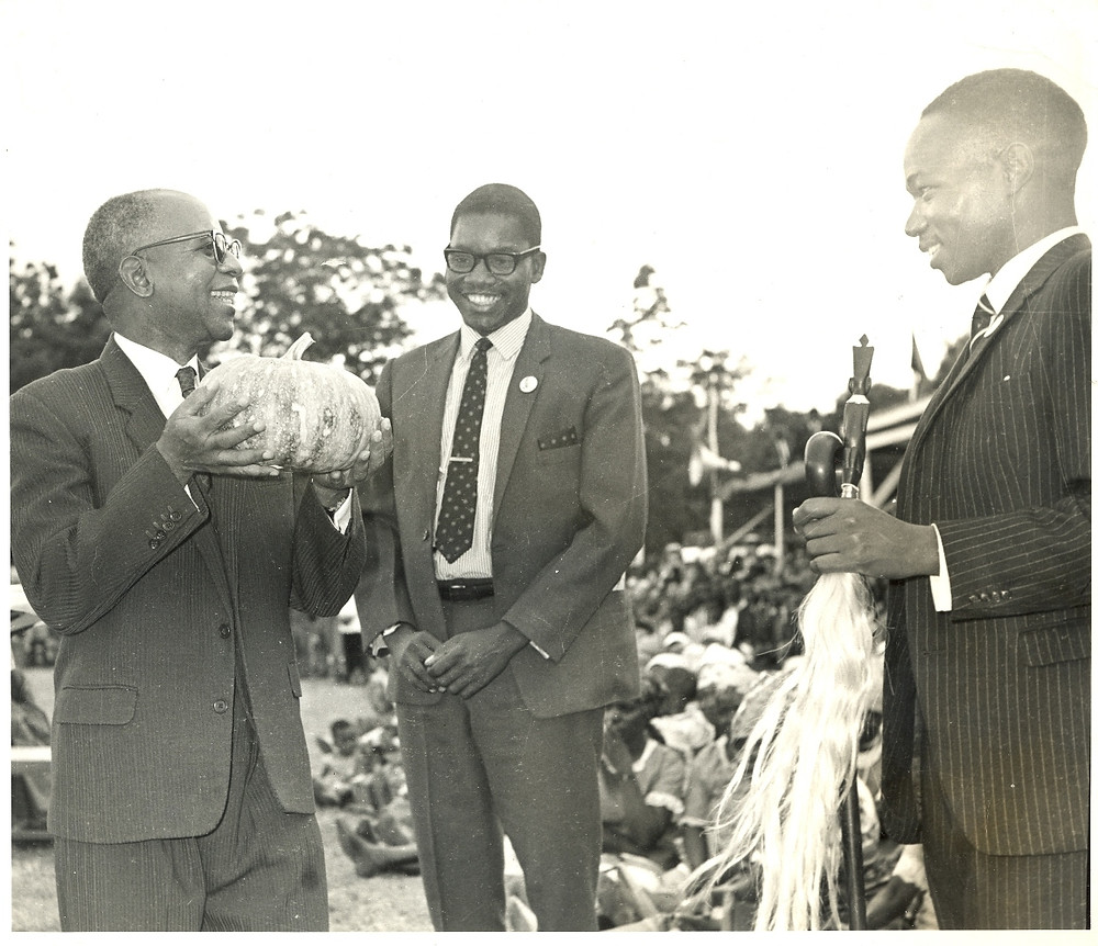 From the left: Dr. Kamuzu  Banda, Gwanda Chakuamba and Aleke Banda