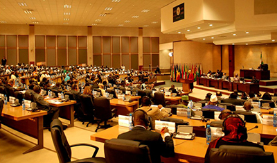 Malawi Parliament in Session