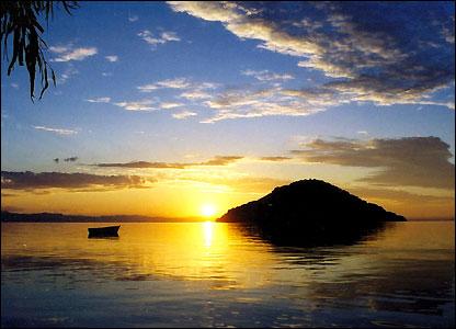 Sunset by Bird Island