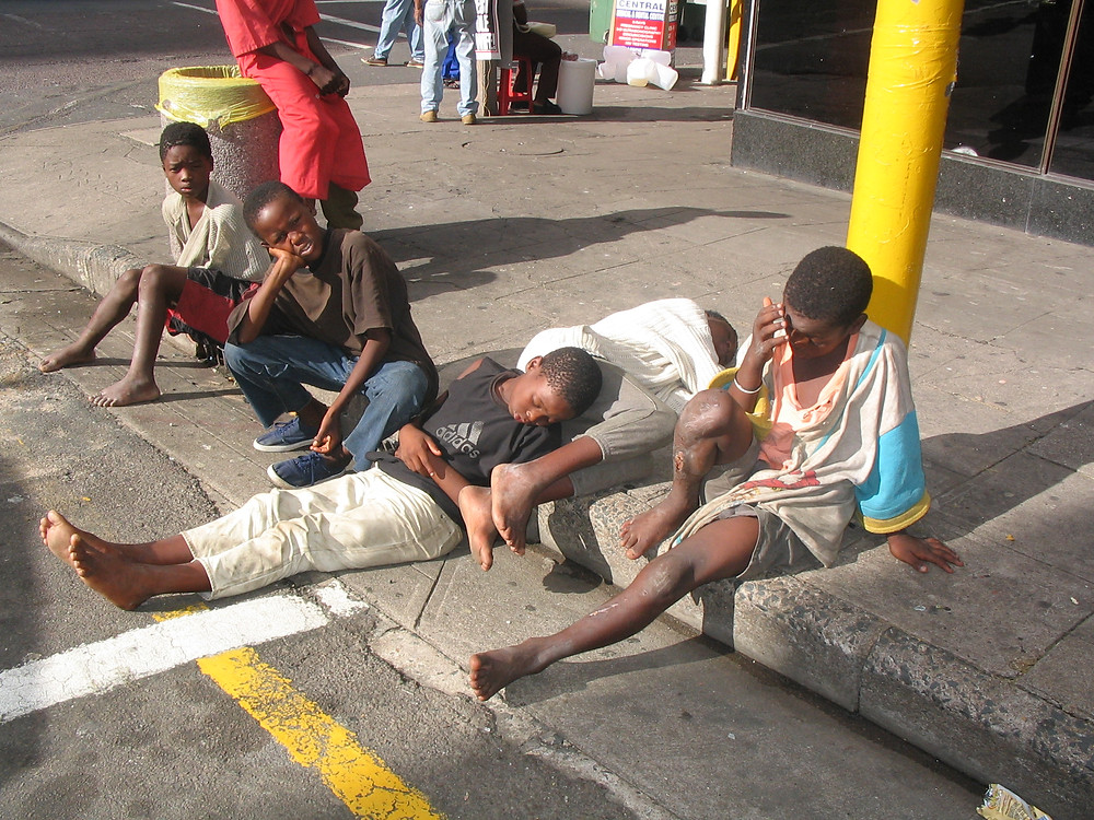 Street children in Malawi. Pic by Ventures Africa