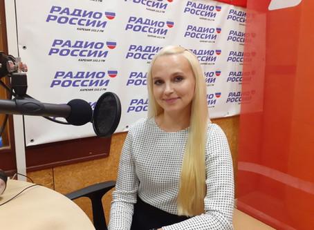 В ЭФИРЕ РАДИО РОССИИ – КАРЕЛИЯ 102,2 FM
