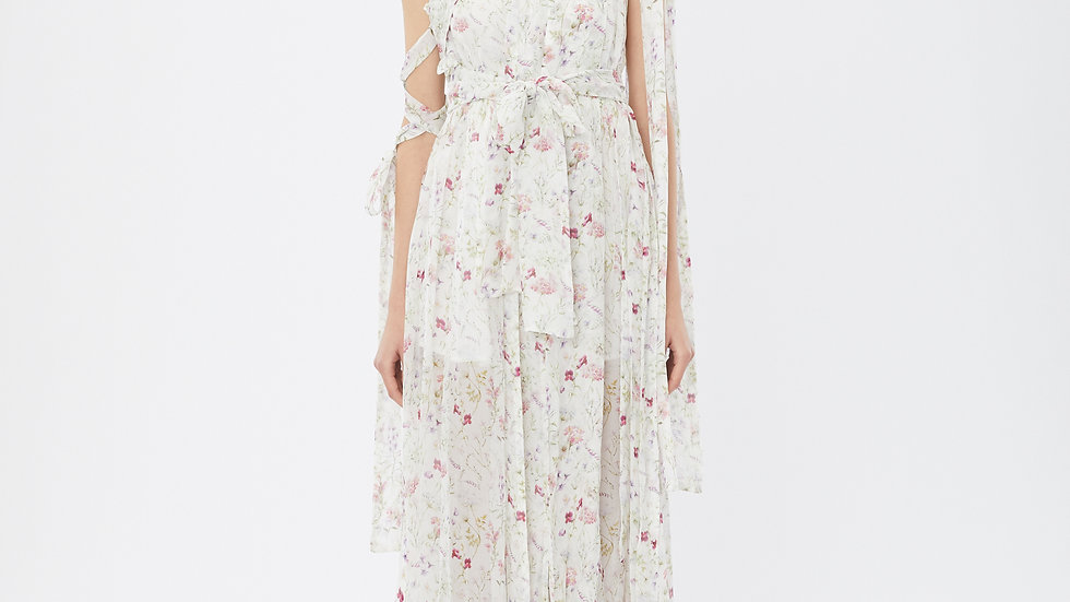KanaLili rosiest blossoming maxi dress