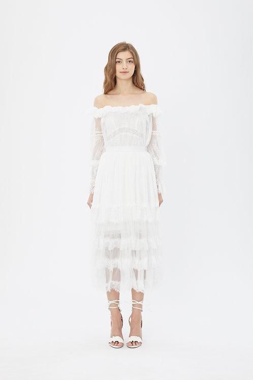 KanaLili daydreamy off shoulder dress