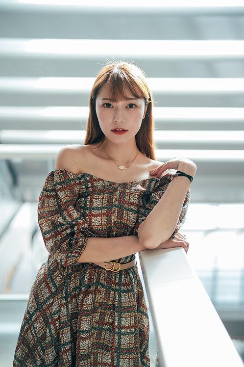 Kanalili Off-shoulder mini dress