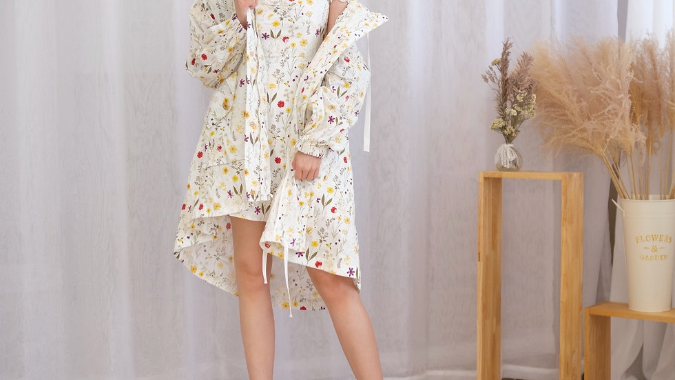 Kanalili Willow Jacket in Floral Printed