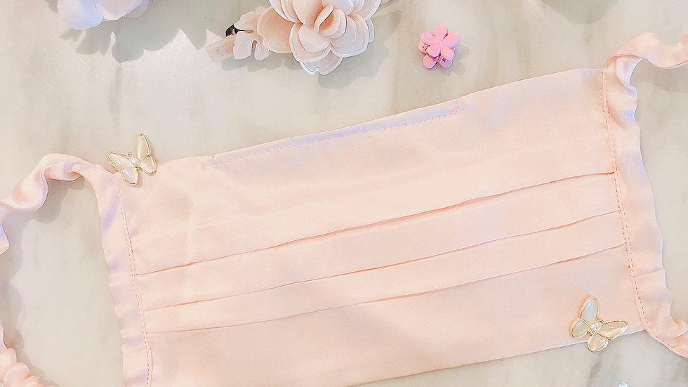 Peach Silk mask