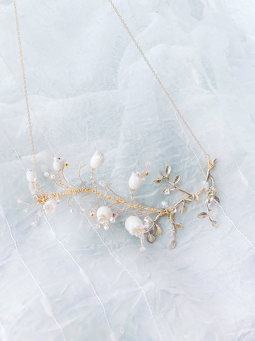 Pamycarie x KanaLili Lily of the Valley Gold-plated 925 Silver Necklace