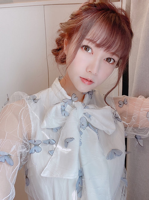 Kanalili butterflies blouse