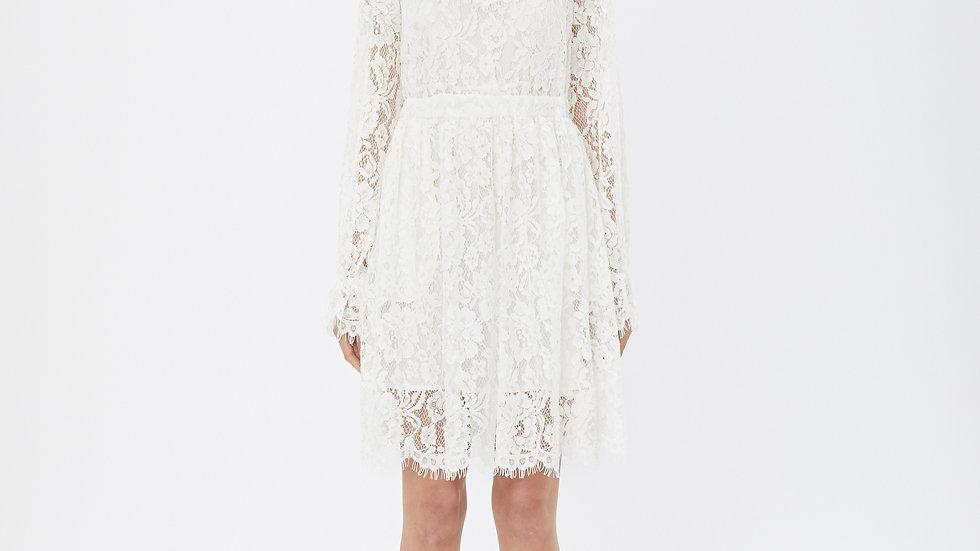 KanaLili daydreamy white lace dress