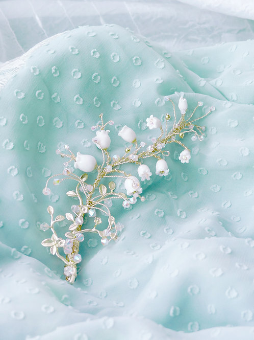 Pamycarie x KanaLili Lily of the Valley Gold-plated Hair Clip