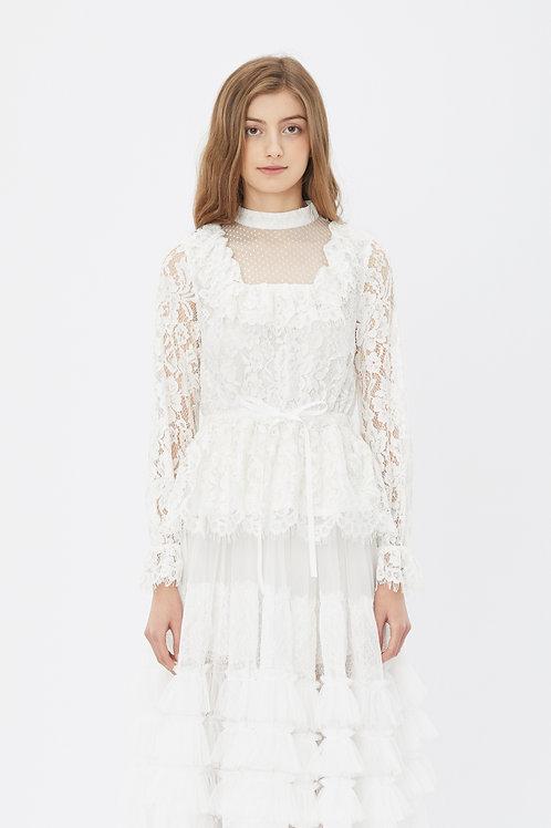 KanaLili daydreamy lace up top