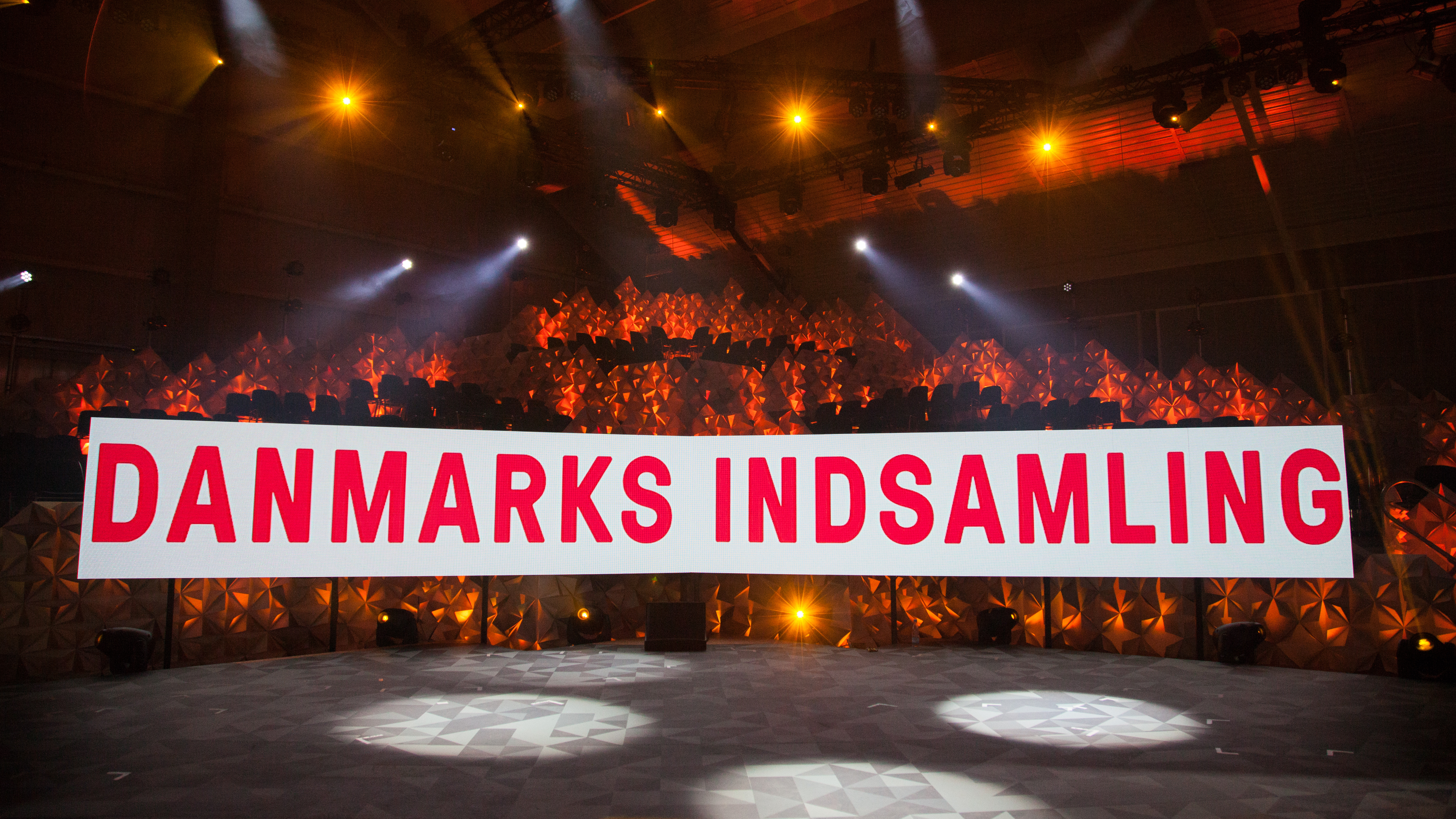 Scenografi Danmarksindsamlingen 2015