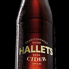 Hallets Real Cider 6% 500ml