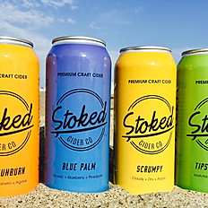 Stoked Baja Sunburn Cider 6.9% 473ml