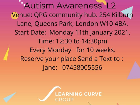 New Courses | Level 2 Autism Awareness and Challenging Behaviours