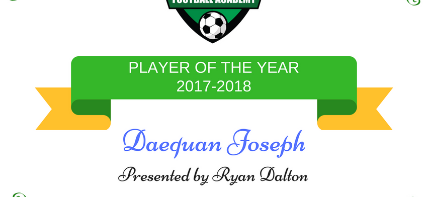 Player of the Year 2017-2018