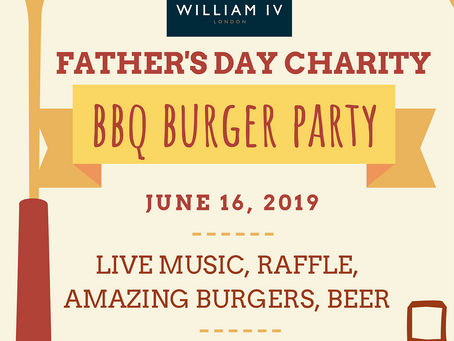 William IV Father's Day BBQ And Burger Party