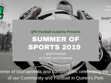 QPG Football Summer Of Sports