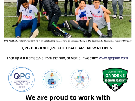 QPG Football Returns This September!