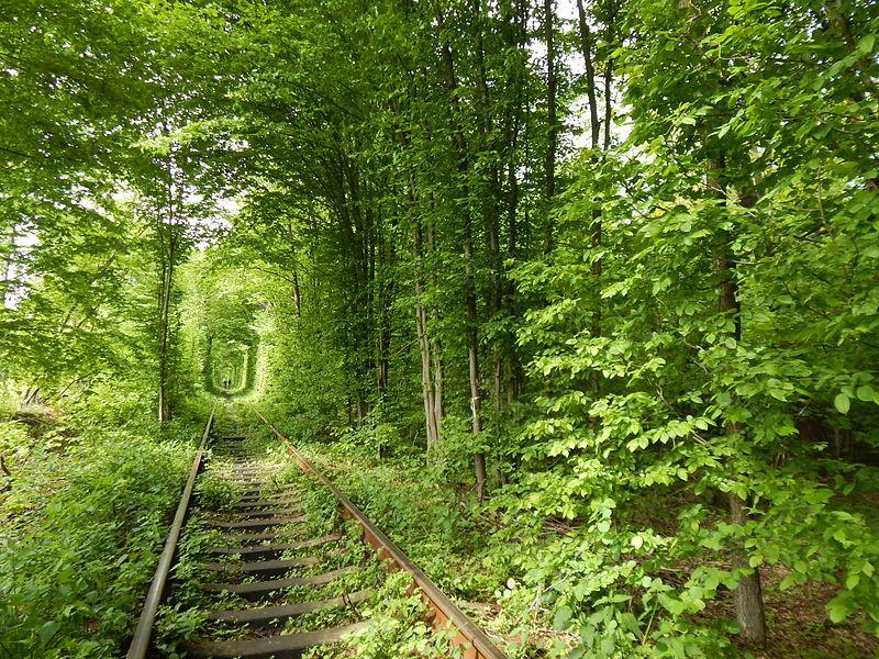 Ukraine, tunnel of love