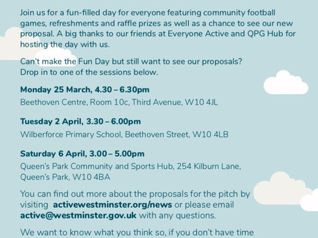 Proposal For New AstroTurf Pitch At Wilberforce Primary